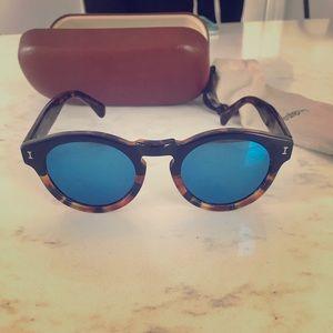 Illesteva Leonard Mirrored Sunglasses 🕶
